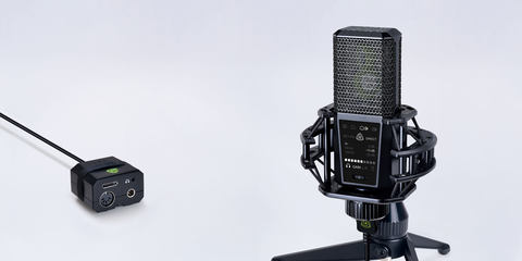 DGT 650 professional USB microphone with interface