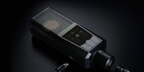 LCT 640 TS high quality studio condenser microphone with the possibility to change the polar pattern after the recording