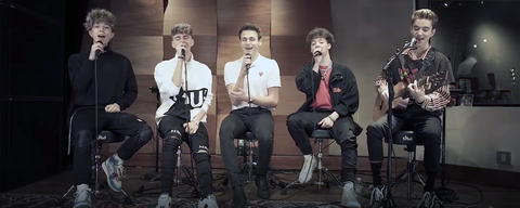 Why don't we using LEWITT microphones at Atlantic Records studio session