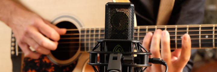 Der LCT 640 TS review über das Mikrofon, dass es Möglich macht die Richtcharakteristik im Nachhinein zu ändern