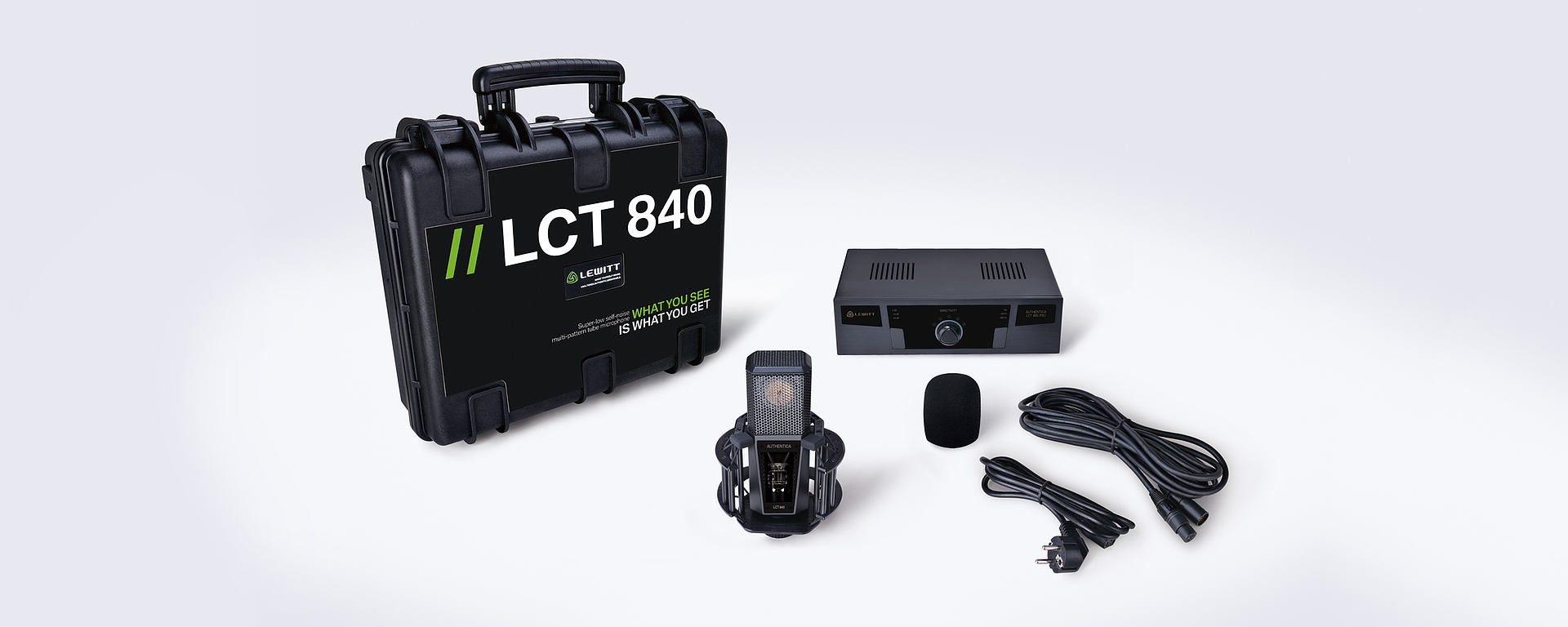 LCT 840 box content
