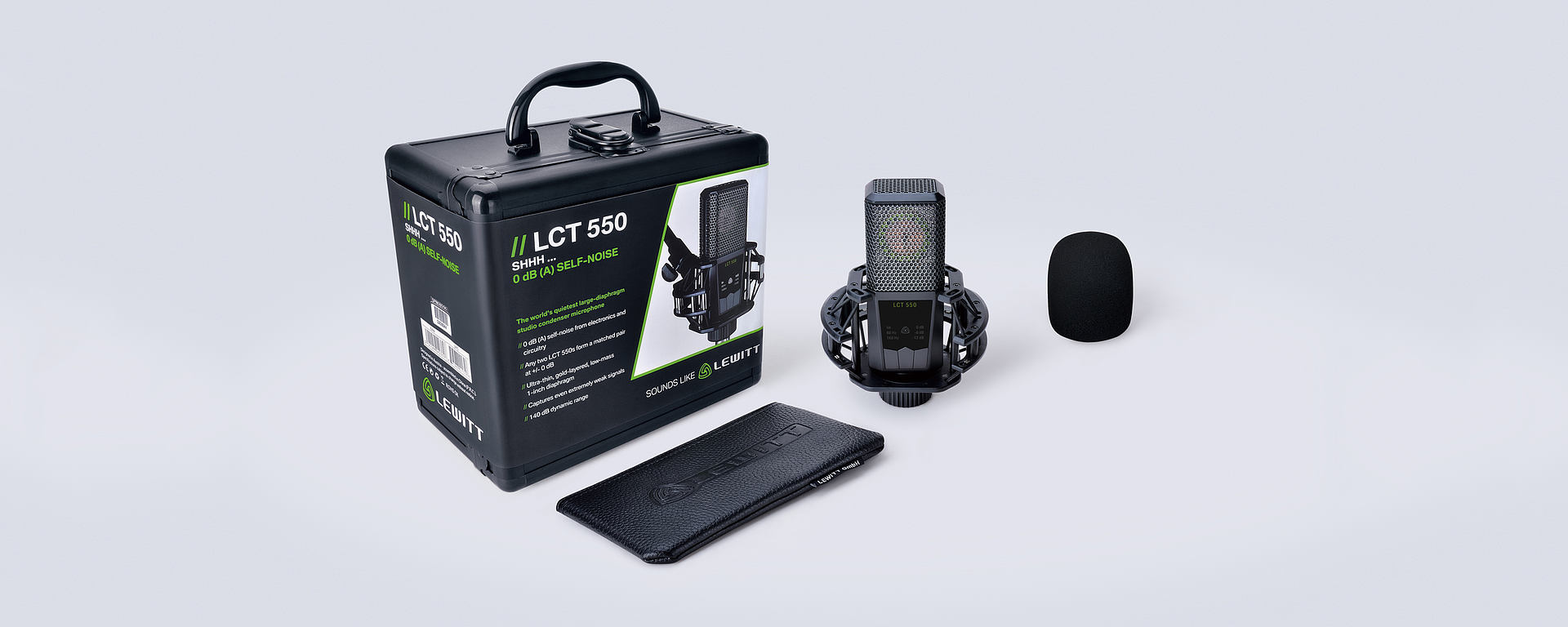 LCT 550 box content
