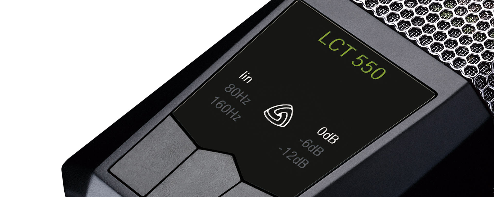 LCT 550 illuminated user interface