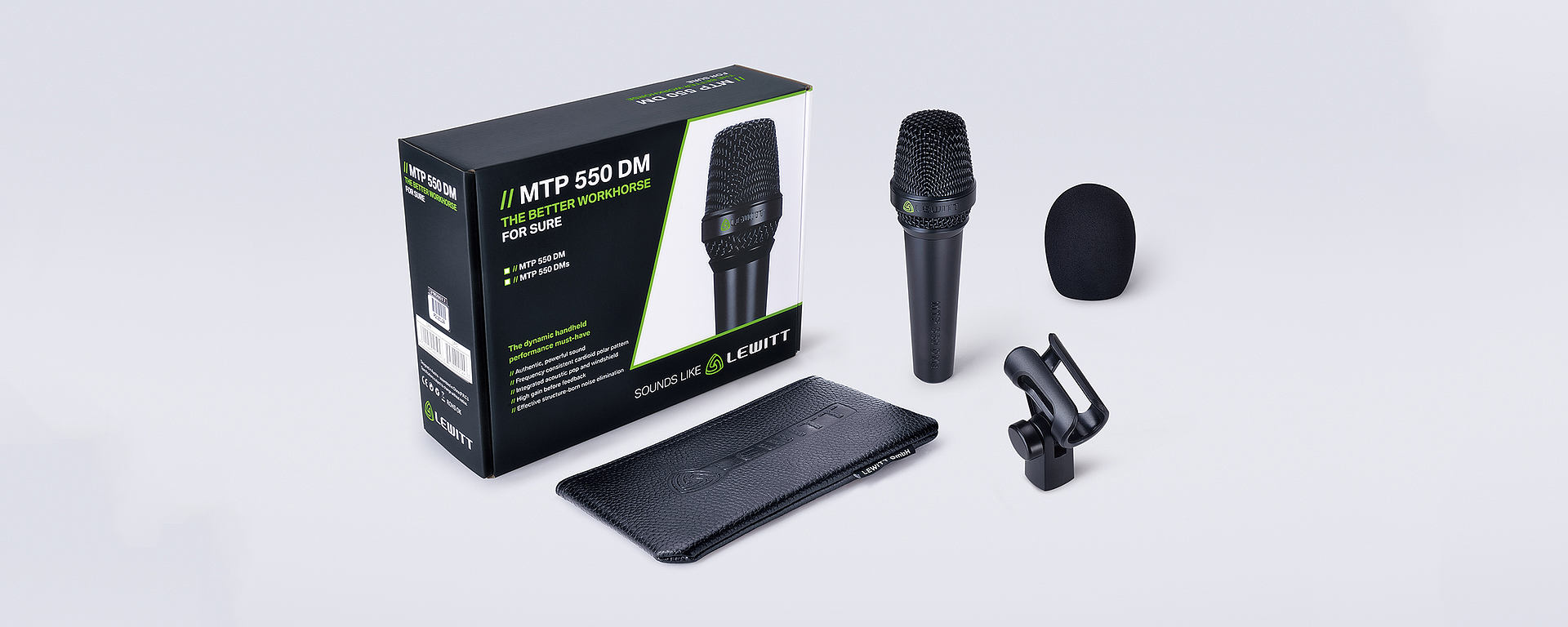 MTP 550 box content