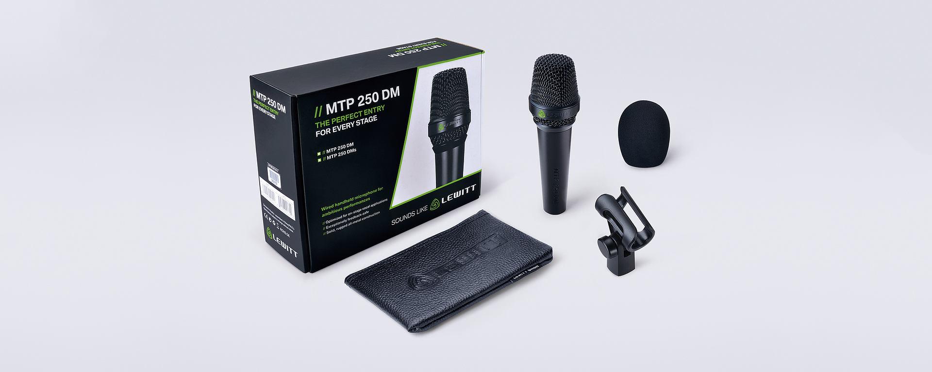MTP 250 box content