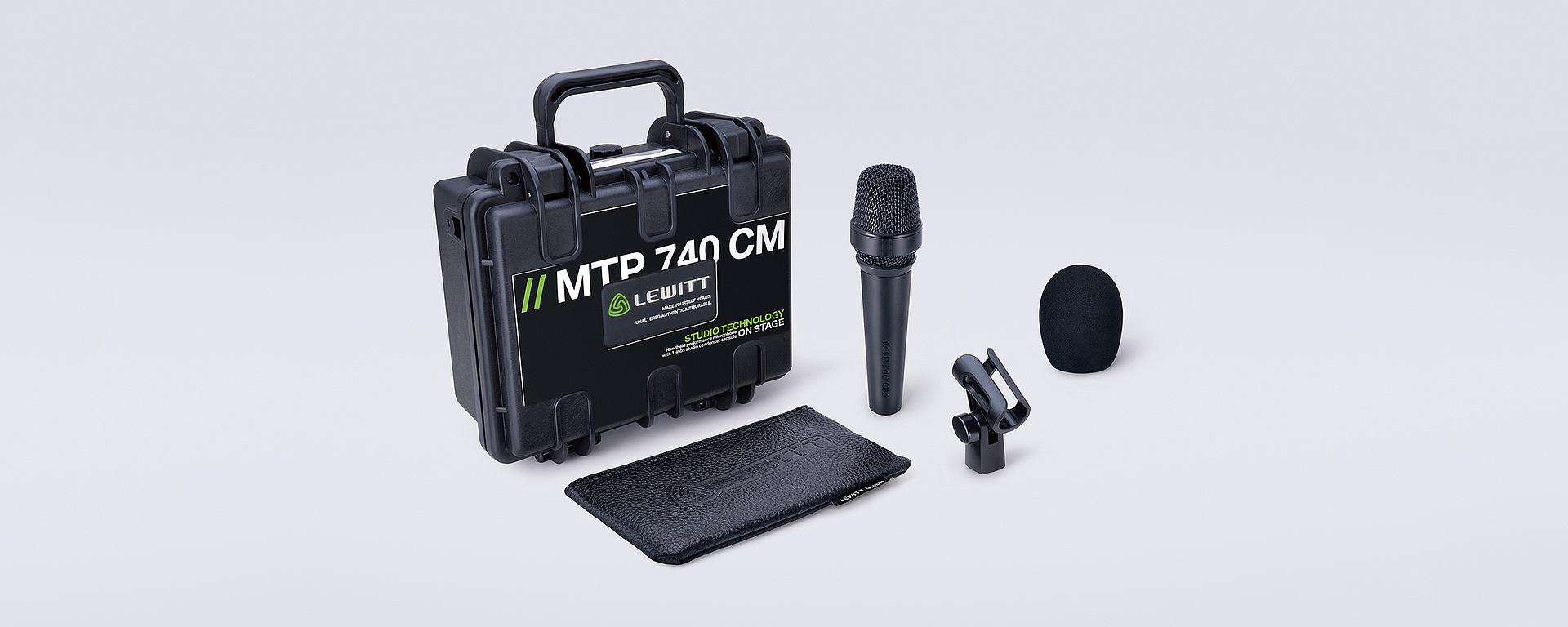 MTP 740 box content