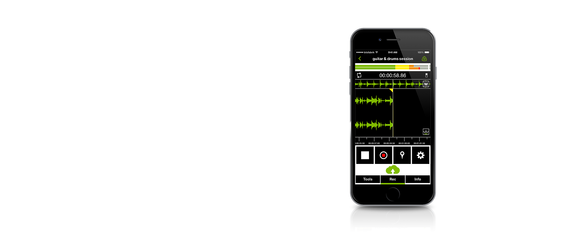 iPhone recording app