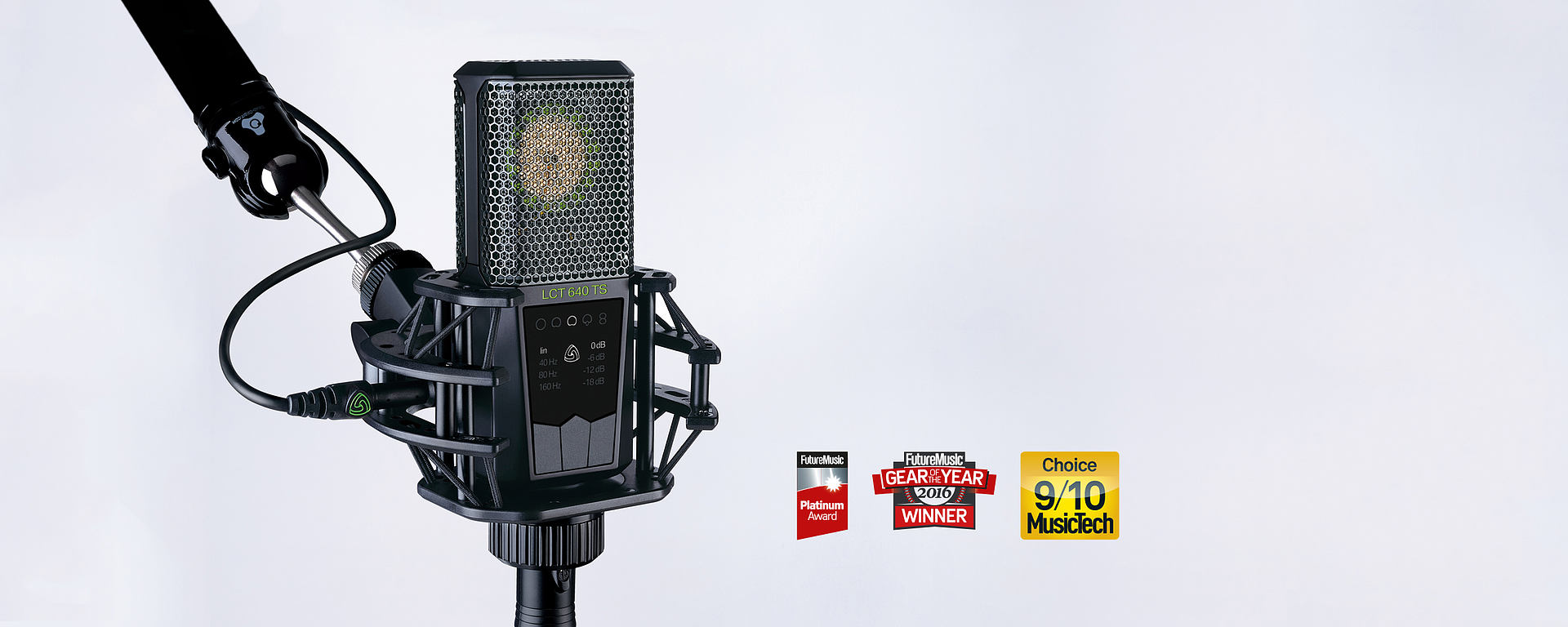 LEWITT LCT 640 TS - What if you could revisit the recording session during post-production?