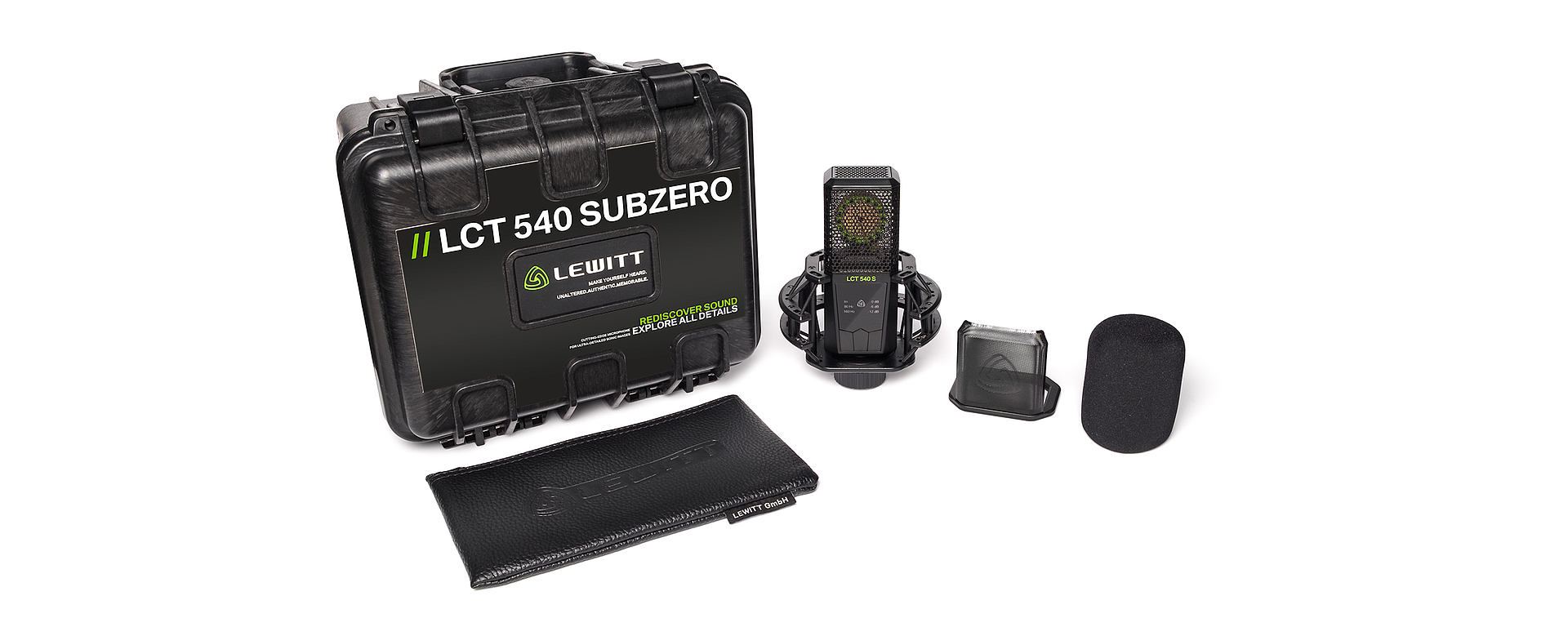 LCT 540 SUBZERO box contents