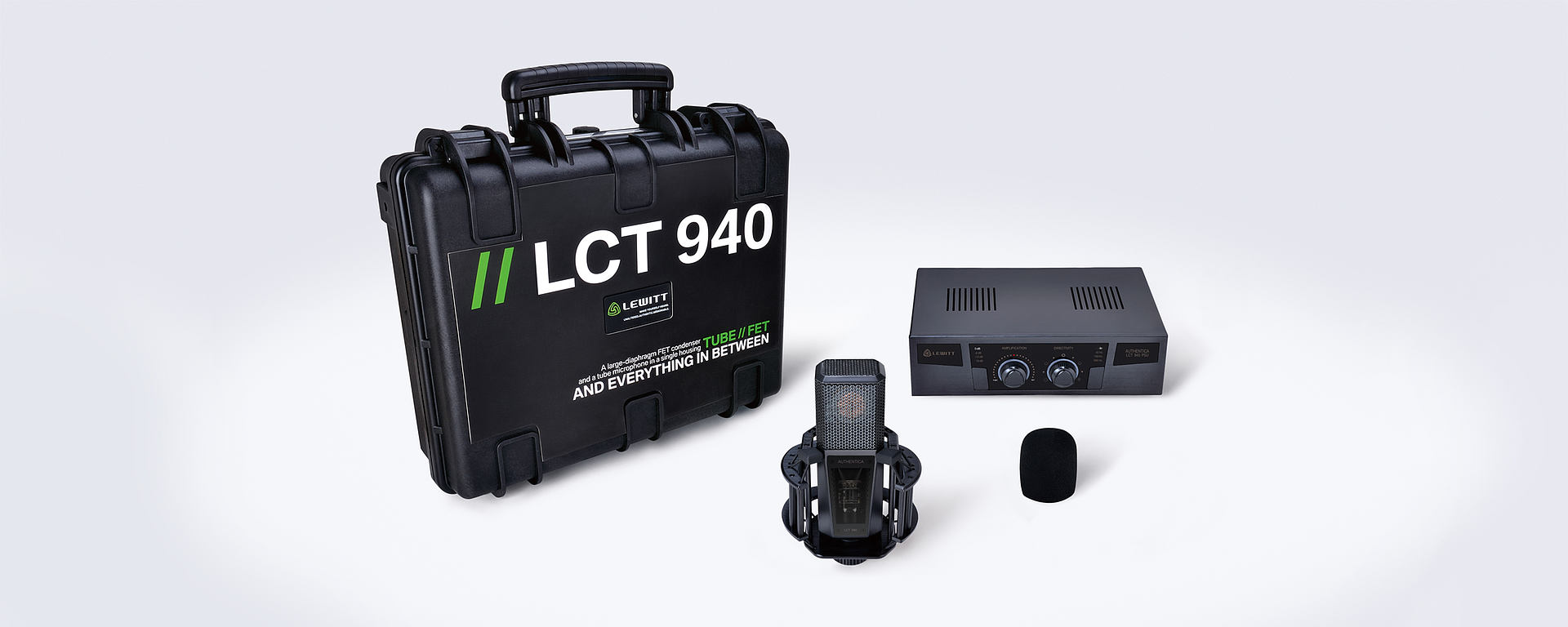 LCT 940 Box contents
