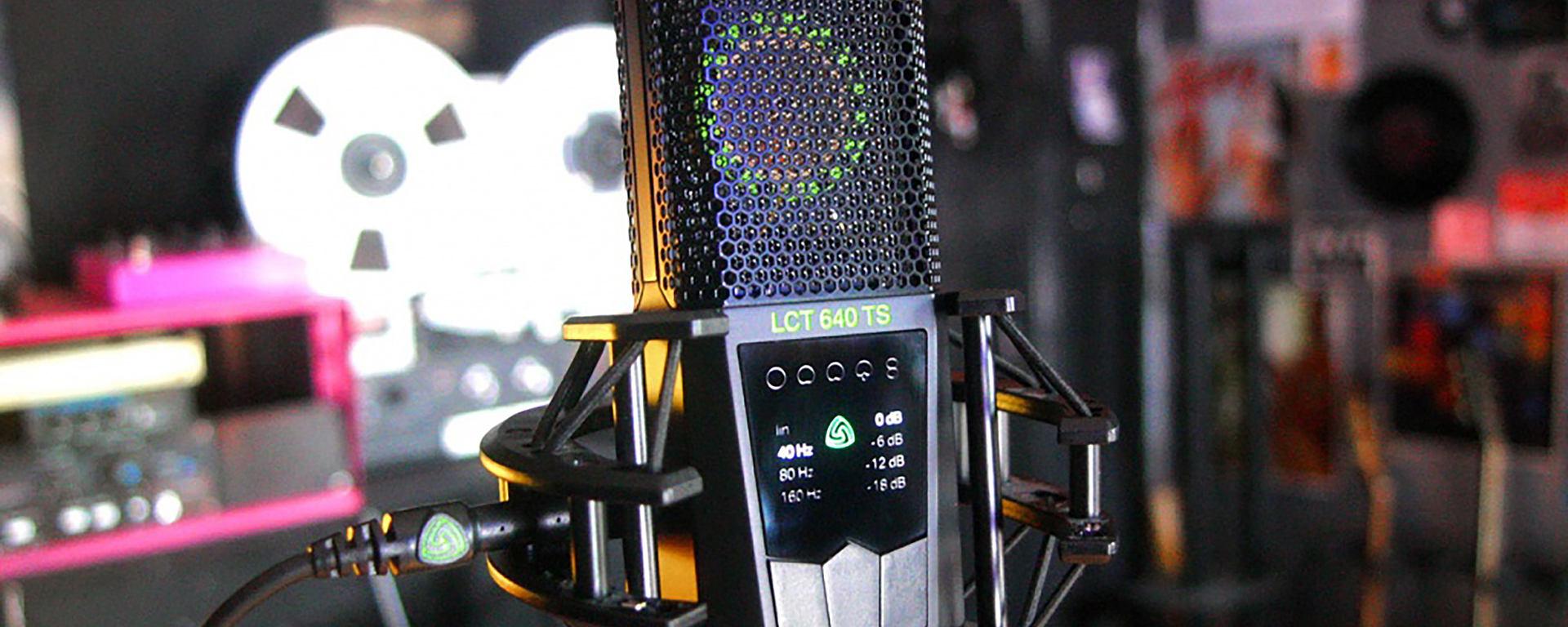 LCT 640 TS large diaphragm studio condenser microphone