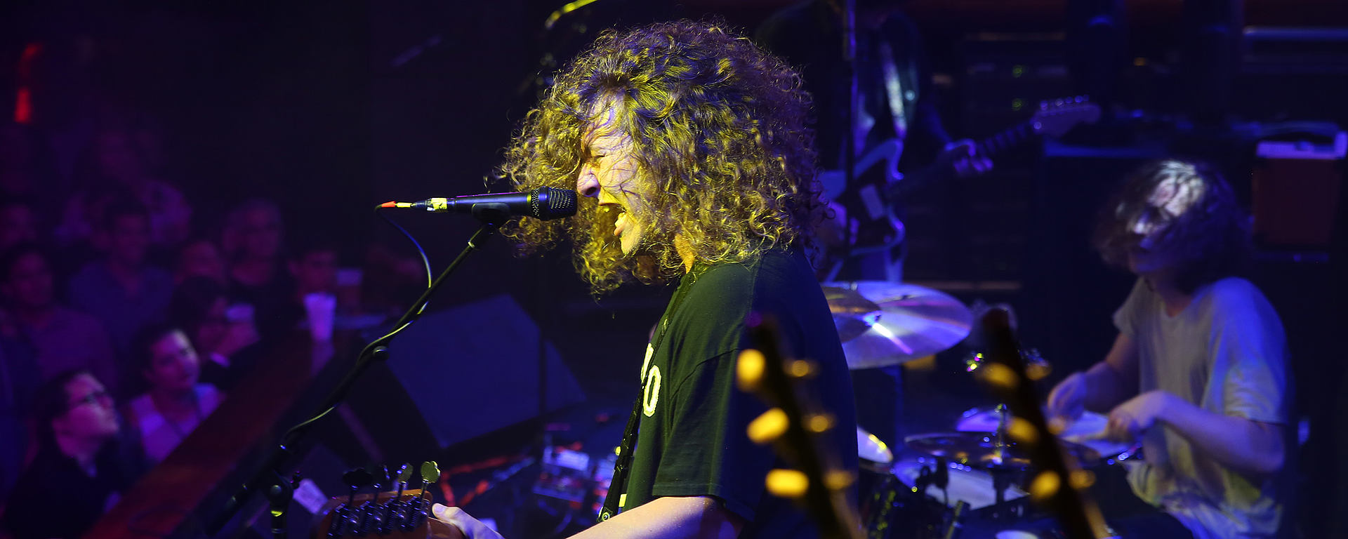 JoeWhite and his MTP 550 DM live performance microphone
