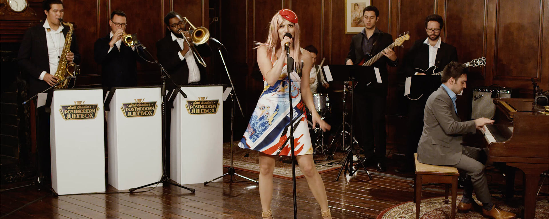 Postmodern Jukebox using high quality mics from LEWITT [Photo: ©Postmodern Jukebox]