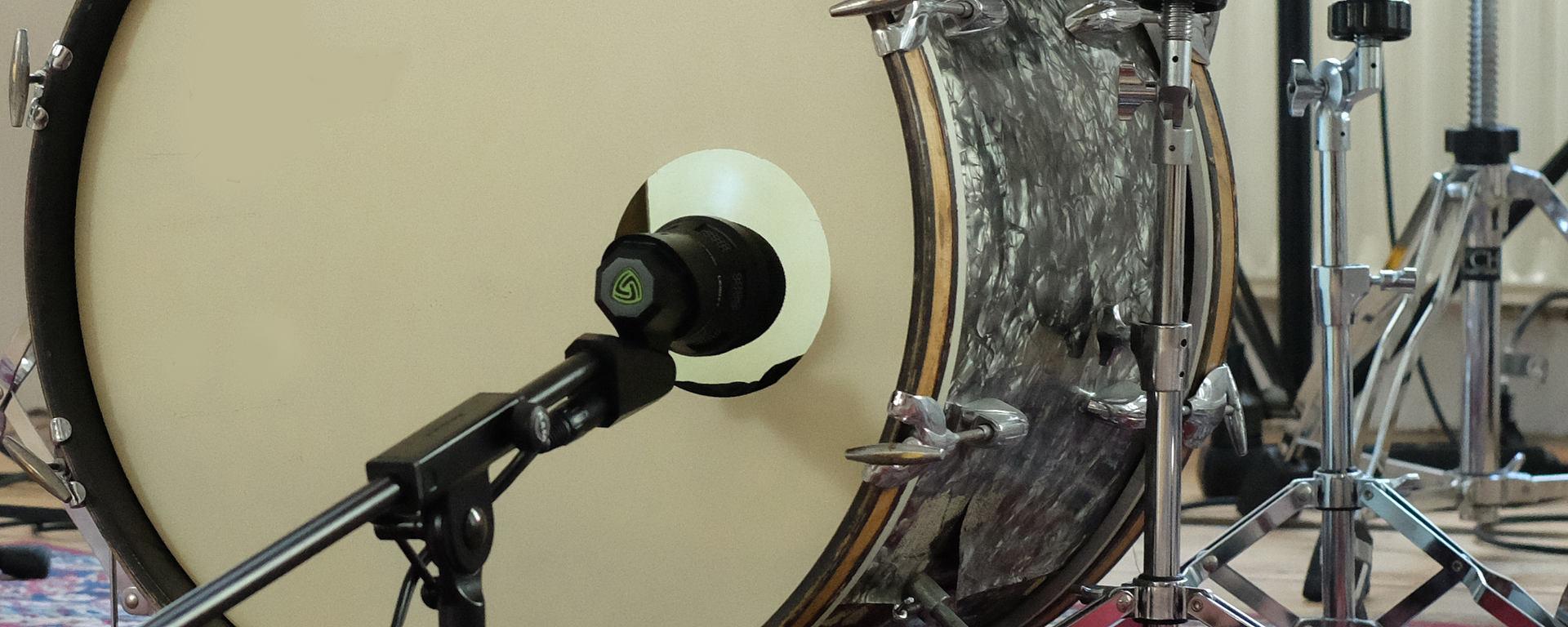 DTP 640 REX best bass drum microphone